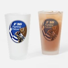 Greek F-16 Drinking Glass