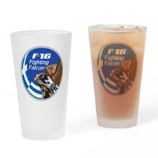 F-16 Fighting Falcon - Greece #2 Drinking Glass