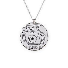 Dance Robots Dance Necklace