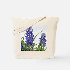 Texas bluebonnet circle charm Tote Bag