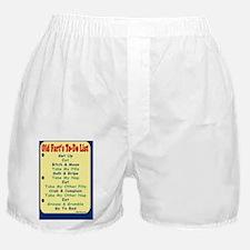 OldFartGreetCard-a Boxer Shorts