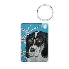 Journal Hound Dog Keychains