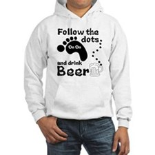 Follow The Dots And Drink Beer Hoodie