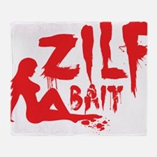 ZILF Bait Throw Blanket
