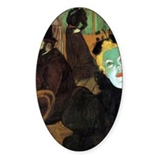 Toulouse-Lautrec At the Moulin Roug Decal