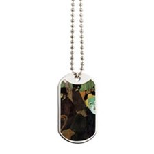Toulouse-Lautrec At the Moulin Rouge Dog Tags