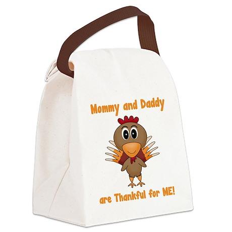 Thankful Turkey Canvas Lunch Bag