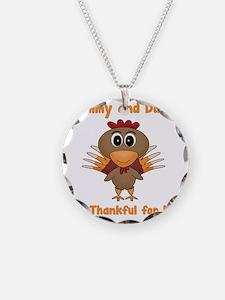Thankful Turkey Necklace
