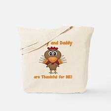 Thankful Turkey Tote Bag