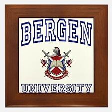 BERGEN University Framed Tile