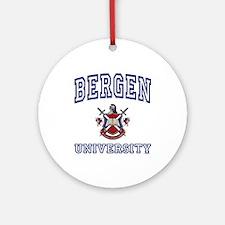 BERGEN University Ornament (Round)
