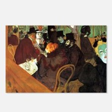 Toulouse-Lautrec At the M Postcards (Package of 8)
