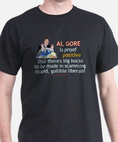 Al Gore & Gullible Libs T-Shirt