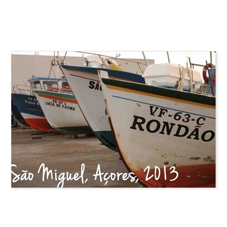azores calendar cover Postcards (Package of 8)
