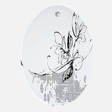 Arthritis Foundation Fundraiser Blac Oval Ornament