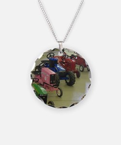 Pedal Pull Tractors Ready to Necklace