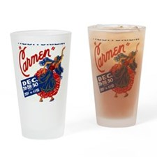 Vintage Carmen Opera Drinking Glass