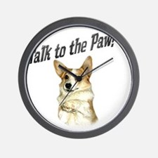 Talk to the Paw! Little Dott Wall Clock