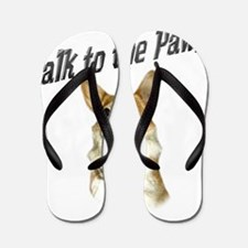 Talk to the Paw! Little Dott Flip Flops