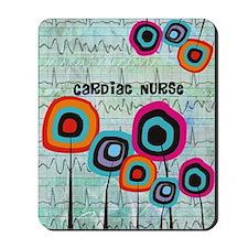 cardiac nurse iphone funky 2 Mousepad