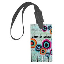 cardiac nurse iphone funky 2 Luggage Tag