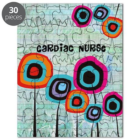 cardiac nurse iphone funky 2 Puzzle