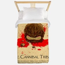 Cannibal Tribble Wanted Poster Twin Duvet