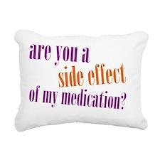 side effect Rectangular Canvas Pillow