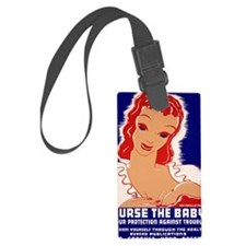 Nurse the Baby Luggage Tag