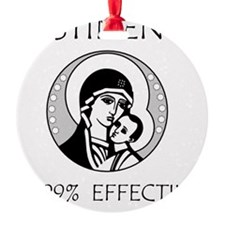 Abstinence Effective Ornament