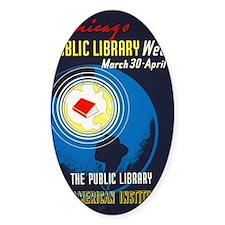 Public Library: An American Institu Decal