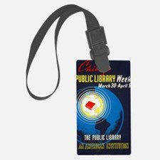 Public Library: An American Inst Luggage Tag