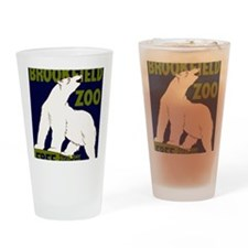 Vintage Visit the Zoo Drinking Glass