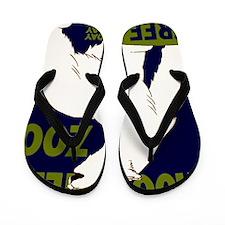 Vintage Visit the Zoo Flip Flops