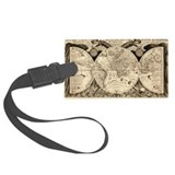 Maps Luggage Tags
