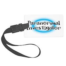 Paranormal investigator Luggage Tag