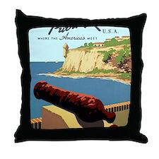 Discover Puerto Rico Throw Pillow