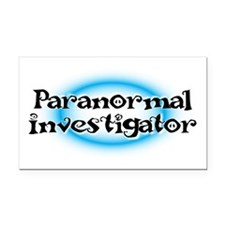 Paranormal investigator Rectangle Car Magnet