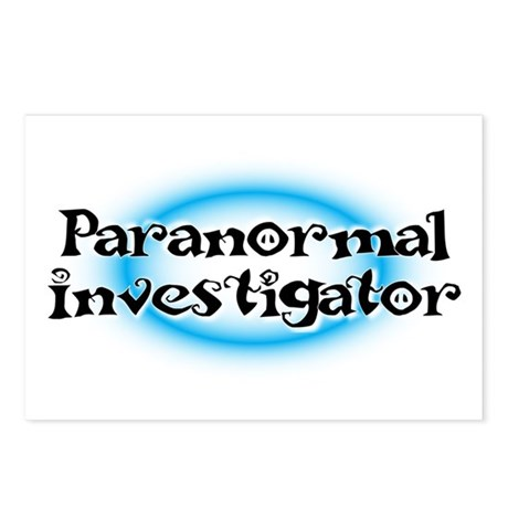 Paranormal investigator Postcards (Package of 8)