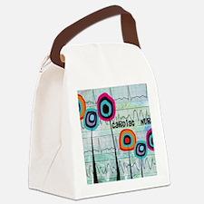 cardiac nurse blanket Canvas Lunch Bag