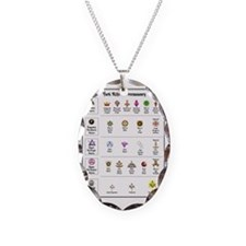 York Rite Emblems Necklace