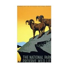 National Parks: Preserve Wild  Decal