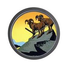 National Parks: Preserve Wild Life Wall Clock