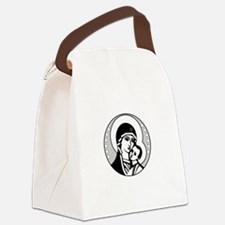 Abstinence Effective Canvas Lunch Bag