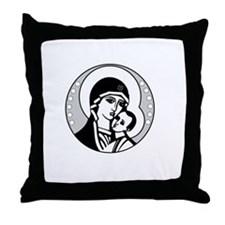 Abstinence Effective Throw Pillow