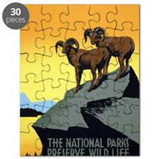 National Parks: Preserve Wild Life Puzzle