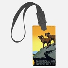 National Parks: Preserve Wild Li Luggage Tag