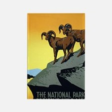 National Parks: Preserve Wild Lif Rectangle Magnet