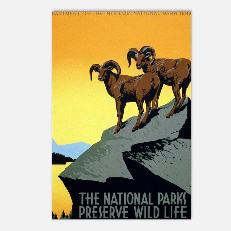 National Parks: Preserve  Postcards (Package of 8)