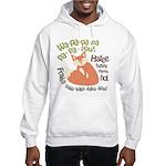 Wa Pow Hatee Ho Fox Hooded Sweatshirt